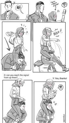 Super cute. I totally ship Yurio x Otobeck. But Yurio with high waisted pants