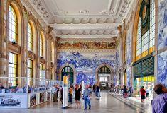 Estação de São Bento - Fique a conhecer os tesouros do Douro Litoral em: www.asenhoradomonte.com