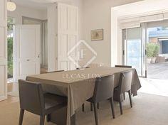 Detached house in Argentona, Maresme Coast, Barcelona Detached House, Ceilings, Property For Sale, Barcelona, Coast, Villa, Dining Table, Doors, Bedroom