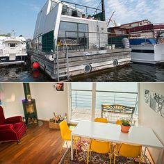 A Scandinavian get away in Stockholm - House Boat Rentals