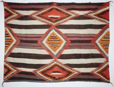 Navajo Chief's Blanket, c. 1900