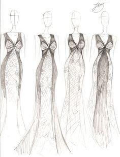 Stephanie D. Couture - Spring 2014 Concept Sketch by ember-snow.deviantart.com on @deviantART
