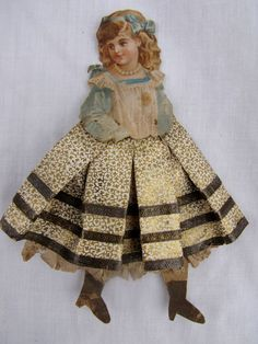 Dresden paper doll