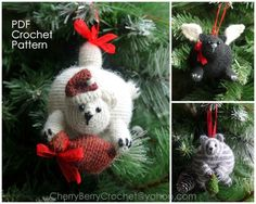 This is a crochet pattern PDF - NOT the actual finished doll at the photos!   LANGUAGE: *English*   I love to make Christmas tree decorations. Every year I make couple of new ones, and one year...