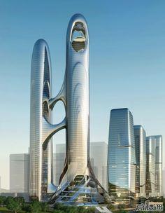 GUIYANG | Guiyang Financial Center | 400m | 1312ft | 367m | 1204ft | Prep - SkyscraperCity