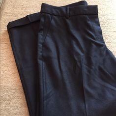"J Crew Cafe Capri (lightweight and dressy ) Lightweight Capri pants 100% wool/laine. They look brand new. Length is 35 1/2 ""  inseam is 25""  waist is 16"" J. Crew Pants Capris"