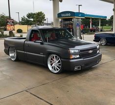 Chevy Trucks Lowered, Bagged Trucks, Custom Chevy Trucks, Gm Trucks, Cool Trucks, Chevy Silverado Single Cab, Silverado Truck, Chevy Pickup Trucks, Chevy Pickups