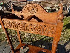 Beautiful Antique Vintage Carved Umbrella Stand | eBay Antique Furniture, Outdoor Furniture, Outdoor Decor, Umbrella Stands, Carving, The Originals, Antiques, Ebay, Beautiful