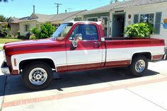 My 1975 GMC Sierra Classic with factory 454 motor.