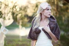 New Year's-Inspired Fashion Shoot - Southern Weddings Wedding Fur, Wedding Cape, Fall Wedding, Dream Wedding, Winter Wedding Inspiration, Style Inspiration, Brown Fur Coat, Bridal Closet, Winter Bride