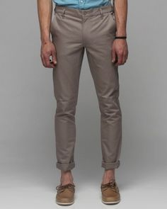 Slim Chino In Grey    Cheap Monday