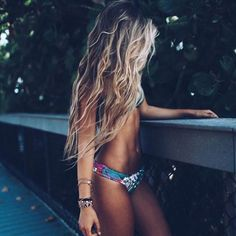 Who else wishes their beach waves would look like this?