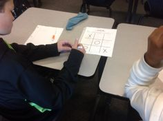 Integer Review Game of Tic-Tac-Toe Today the students had so much fun playing Tic-Tac-Toe as they practiced their math facts that they almost forgot they were in math class ;) Grab a copy at my TpT store here: https://goo.gl/zTE410