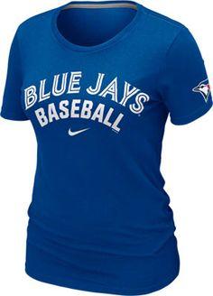 Toronto Blue Jays Women's 2013 Nike Royal Practice T-Shirt Baseball Quotes, Baseball Mom, Baseball Stuff, Softball, Sports Team Apparel, Sports Teams, Toronto Blue Jays, Go Blue, Sport Outfits