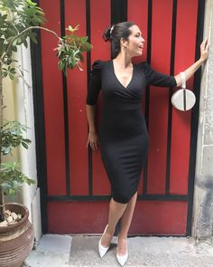 Black, Dresses, Fashion, Vestidos, Moda, Black People, Fashion Styles, Dress, Fashion Illustrations
