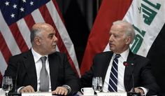 """Vice President Joe Biden reassured Iraq's government on May 25 of US support in the fight against the Islamic State of Iraq and the Levant (ISIL), telephoning Prime Minister Haider Al-Abadi with thanks for """"the enormous sacrifice and bravery of Iraqi forces"""" one day after Defense Secretary Ash Carter questioned the Iraqi military commitment."""