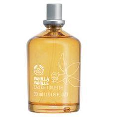The Body Shop - Vanilla Eau de Toilette - favorite perfume! Sweet and simple. The Body Shop, Body Shop Australia, Vanilla Perfume, Shops, Smell Good, Bath And Body, Perfume Bottles, Skin Care, Fragrance