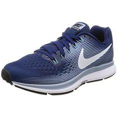 feb66379020e1 Nike Womens Air Zoom Pegasus 34 Running Shoe Binary Blue White-Glacier  Grey-Cerulean For Sale