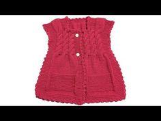 Burgulu Bebek Yeleği Nasıl Yapılır? (Baştan Sona Anlatım) – örgü modelleri – knitting pattern | Pratik Yazar, Örgü Modelleri, El İşi Örnekleri, Yemek, Tatlı Tarifleri