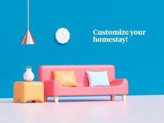 Home customization static version designed by Udhaya Chandran. Connect with them on Dribbble; 3d Character, Character Design, Luxury Chairs, Isometric Design, 3d Home, Game Icon, 3d Artwork, Inspiration Wall, Rebounding