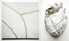 Pagan Poetry - A Solo Show by TJ Volonis   Fiercely Curious - Kintsugi