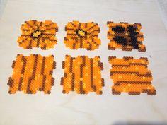 3d hama beads calabazas halloween plantilla.