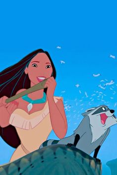 Lilly and Louis want to be Pocahontas and Meeko lol