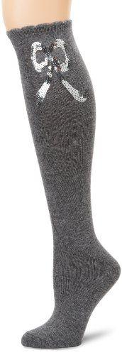 Betsey Johnson Women/'s 2 Pack Animal Print,Striped,Graphic,Solid Knee High Socks
