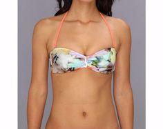 bce87f0153daa New Ted Baker Bryyone Electric Day Dream Bar Bandedu Halter Bikini Top Size  2  TedBaker