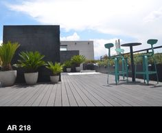 Ar218 terrace for guests to enjoy their stay