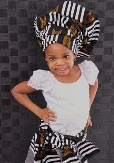 Baby Girl Ankara Styles