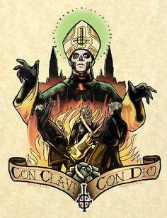 Ghost Con Clavi Con Dio