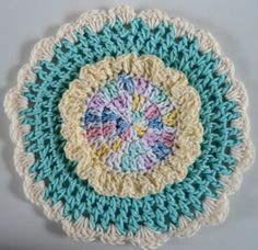 "Free pattern for ""Spring Song Dishcloth""!"