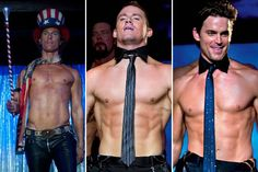 Magic Mike stars Matthew McConaughy, Channing Tatum, Matt Bomer, and Alex Pettyfer as male dancers. I will be the first person in line to see it.