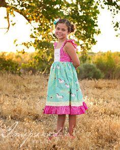 Cosette Dress Pattern-Violette Field Threads
