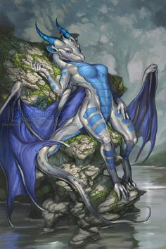 Byzil on The Rocks by The-SixthLeafClover on DeviantArt