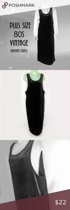 I just added this listing on Poshmark: Plus Size Black Velour Shift Jumper Dress. Early 2000s Fashion, Vintage Jumper, Plus Size Vintage, Jumper Dress, Plus Fashion, Fashion Tips, Fashion Trends, Plus Size Dresses, Vintage Black