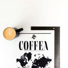Our coffea canvas art print is the perfect gift for the coffee lover in your life.  Printed on a durable premium cotton canvas, you can hang it, pin it  or frame it.  Find more at thesavvyheart.com