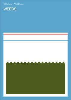 minimalist poster popular tv shows
