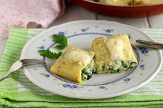 Crespelle ripiene con zucchine | Pane e Gianduia blog Crepes, Pane, Spanakopita, Food And Drink, Ethnic Recipes, Italia, Kitchens, Lasagna, Pancakes