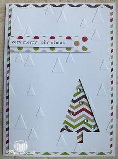 Magical Scrapworld: Verry merry Christmas, Stampin' Up!, christmas card