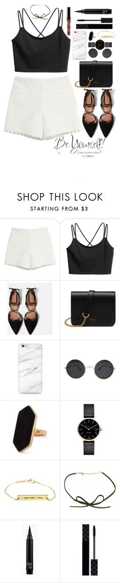 """""""Be yourself, you're the best you"""" by jenwolf2121 ❤ liked on Polyvore featuring Moschino Cheap & Chic, Zara, Mulberry, Jaeger and Gucci"""