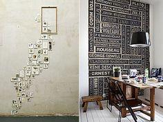 Η εντυπωσιακή διακόσμηση στις κάθετες επιφάνειες του σπιτιού είναι θέμα... τοίχου και σίγουρα όχι τύχης! Πάρτε ιδέες και -με ελάχιστο κόστος- δώστε νέο αέρα στο σπίτι σας. Arthur Conan, George Orwell, Home Decor, Decoration Home, Room Decor, Home Interior Design, Home Decoration, Interior Design