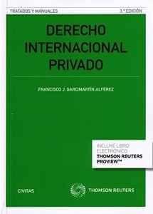 Derecho internacional privado / Francisco J. Garcimartín Alférez