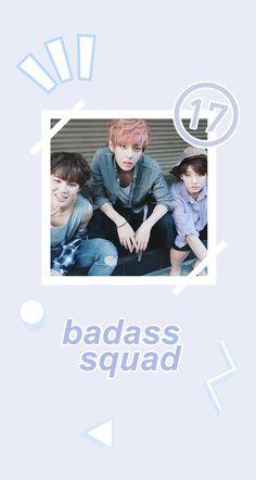 BTS Jimin, Taehyung. and Jungkook Wallpaper - Credits to owner/artist