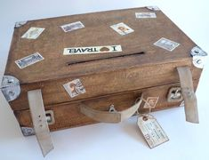 valise en carton Physical Fitness, Suitcase, Gifts, Decoration Inspiration, Islands, Images, Gift Ideas, Suitcase Card Box, Packing
