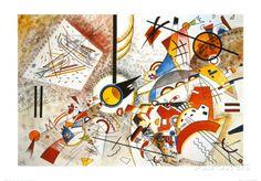 Eloisa akvarelli Posters tekijänä Wassily Kandinsky AllPosters.fi-sivustossa
