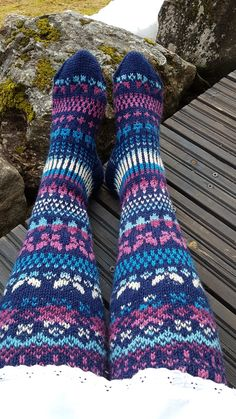 Sock Knitting, Crochet Socks, Diy, Knit Socks, Bricolage, Knitting Socks, Do It Yourself, Homemade, Diys