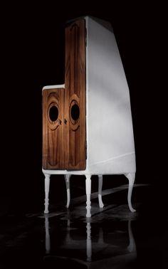 """Cabinet Valentin Loellmann - Furniture Design - Galerie Gosserez - The """"M. & MME"""" collection"""