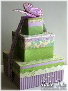 Bunches of Beautiful Boxes wtih Katie Tate -Project ideas using your Scor-Pal